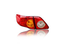 Car Tail Lights Isolated From ...