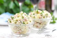 Russian Traditional Salad Oliv...
