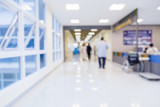 blur image background  of corridor in hospital or clinic image