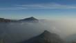 Nuvole in bassa quota dalla Grigna meridionale
