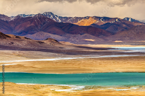 Nice view of Pamir in Tajikistan