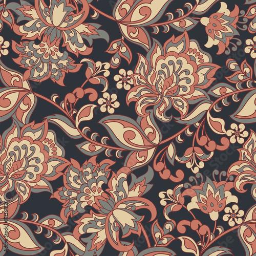 ozdoba-wektorowa-batik-ludowy-etniczny-kwiecisty