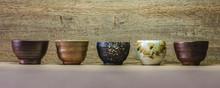Many Sake Cup Background