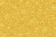 Leinwanddruck Bild - Gold glitter festive background, horizontal texture