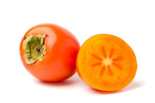 A Persimmon, And Half On White...