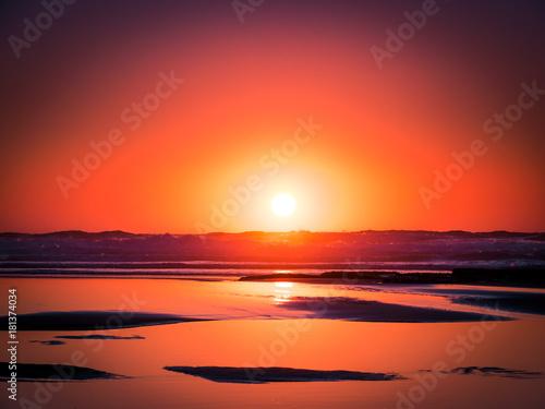 Foto op Plexiglas Crimson sunset VIII