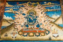 Wrathful Dark Blue Bodhisattva...