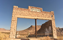 Ghost Town Storefront Nevada D...