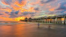Coastal Dreams - Sunset Pier