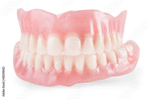 Fotografie, Obraz  False teeth isolated