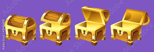 Fotografie, Obraz treasure chest for animation