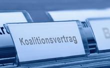 Koalitionsvertrag  - Symbolfoto