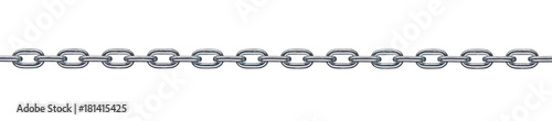 Fotografia  chain link metal steel
