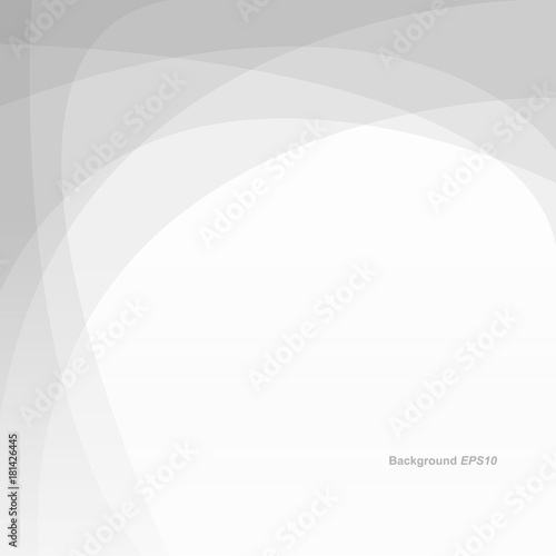Grey White Light Geometric Abstract Background Vector