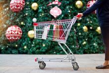 Christmas Shopping - Woman Sho...