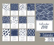 Cute Calendar For 2018