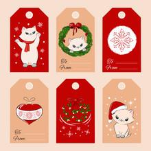 Merry Christmas Gift Tags Set ...