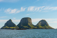 Scenic Rocky Coastline Of Isla...