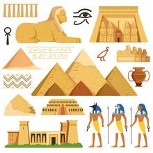 Pyramid Of Egypt. History Land...