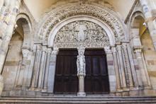 Tympan Du Jugement Dernier, Cathédrale Saint Lazare, Autun, Bourgogne, France