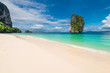 Poda Island, a beautiful view of the seascape, no people Thailand
