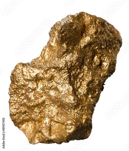 Big golden nugget. Tablou Canvas