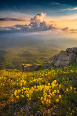 Plakat Majestic landscapes of Crimea