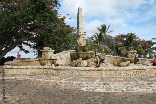 Fotografia Beautiful and unique landscape of Dominican Republic