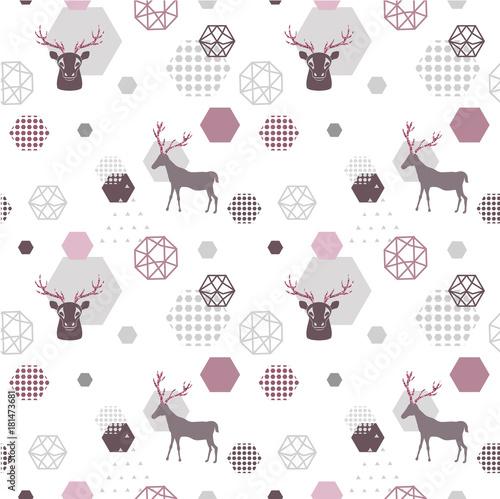geometryczny-modny-wzor-renif