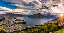 Queenstown New Zealand Sunset
