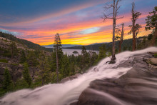 Eagle Falls Sunrise At Lake Ta...