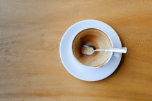 Empty Coffee Cup After Drink O...