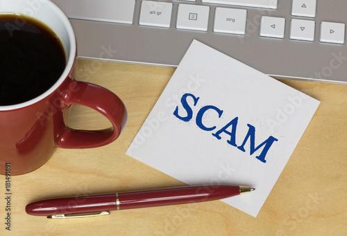 Fotografering  Scam