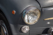 古い自動車のヘッドライト Headlight of the old car