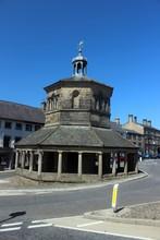 Market Cross, Barnard Castle, County Durham, England.