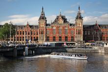 Amsterdam  Central Station. Ne...