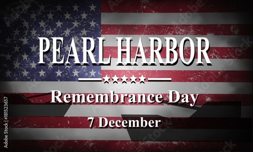 Pearl Harbor Remembrance, background Wallpaper Mural