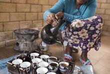 Ethiopian Coffee Ceremony.