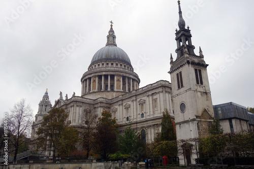Obraz na dibondzie (fotoboard) Katedra Świętego Pawła, Londyn, Anglia