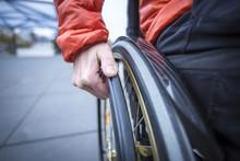 Person Im Rollstuhl, Detailauf...