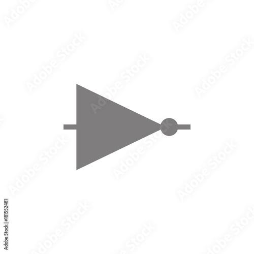 Electronic circuit symbol icon. Web element. Premium quality graphic ...