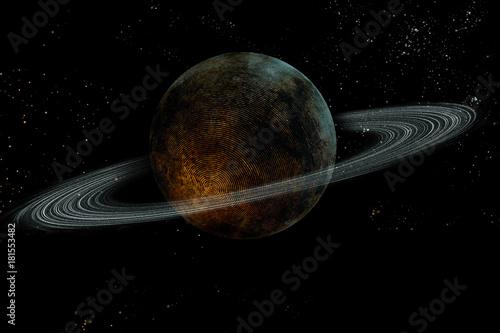 Fototapeta Planet Saturn Galaxy