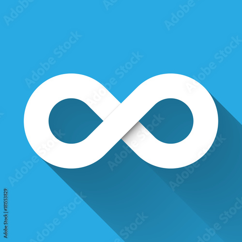 Infinity Symbol Icon Concept Of Infinite Limitless And Endless