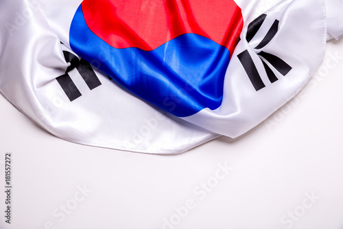 Authentic flag of the South Korea Poster