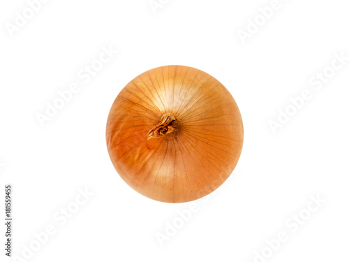 Fotografía Golden ripe onion bulb