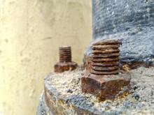Rusty Nut Bolt