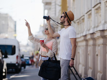 Sightseeing Travel. Tourists T...