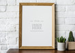 canvas print picture - Design space photo frame