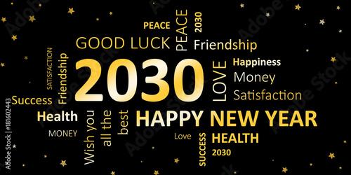 Fotografia  Happy new year 2030 Wünsche
