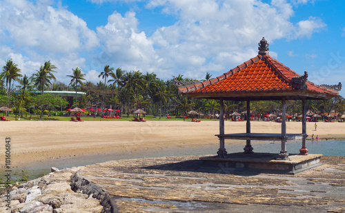 Foto auf Acrylglas Tropical strand Beautiful tropical island beach. Bali, Indonesia.